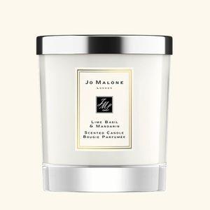 New Jo Malone Lime Basil & Mandarin candle. 🤍